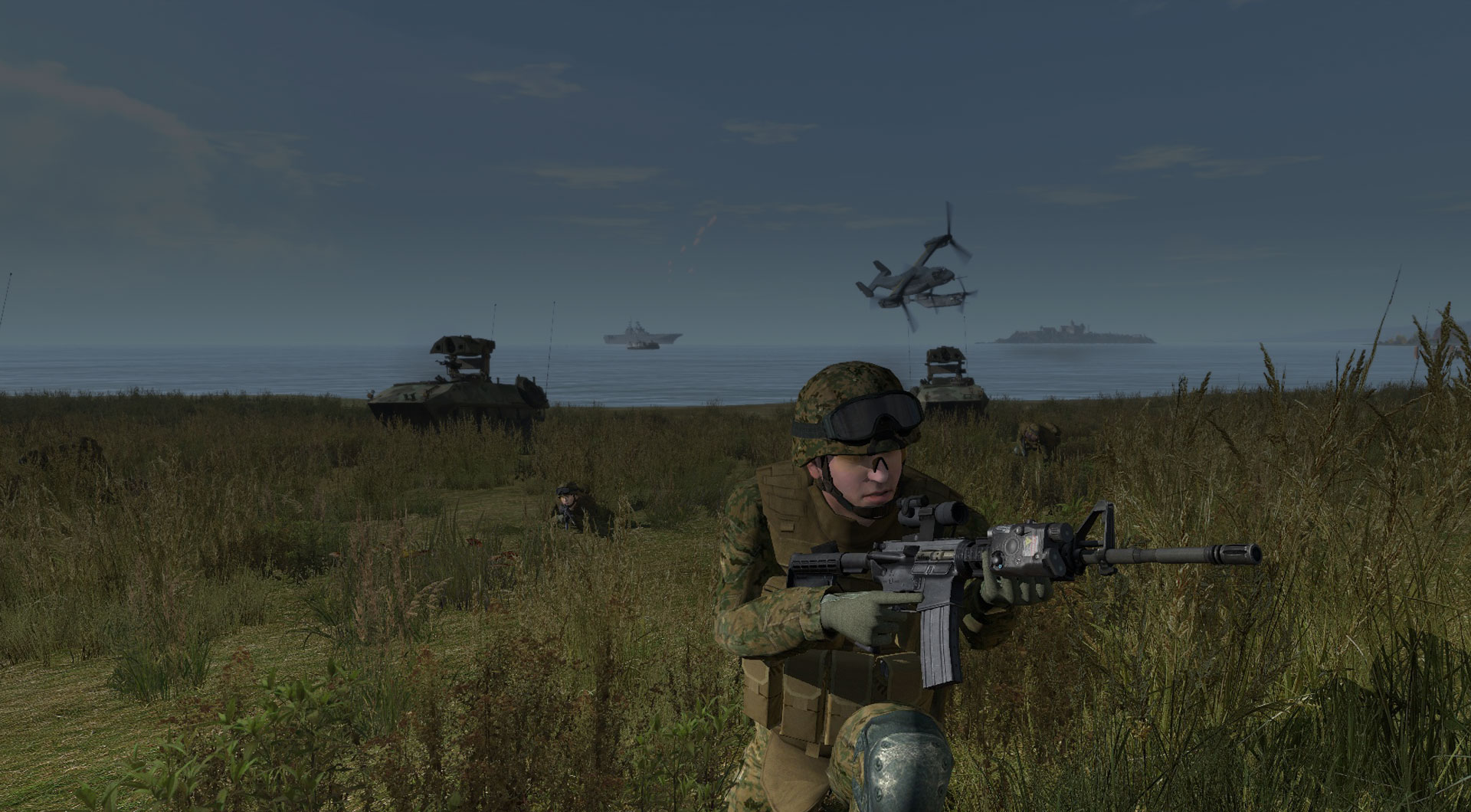 Virtual Battlespace | BISim