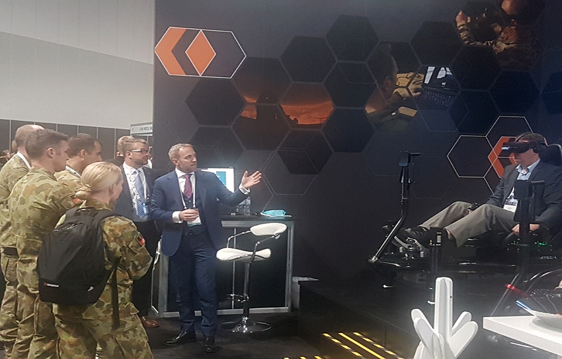 virtual military simulation and training