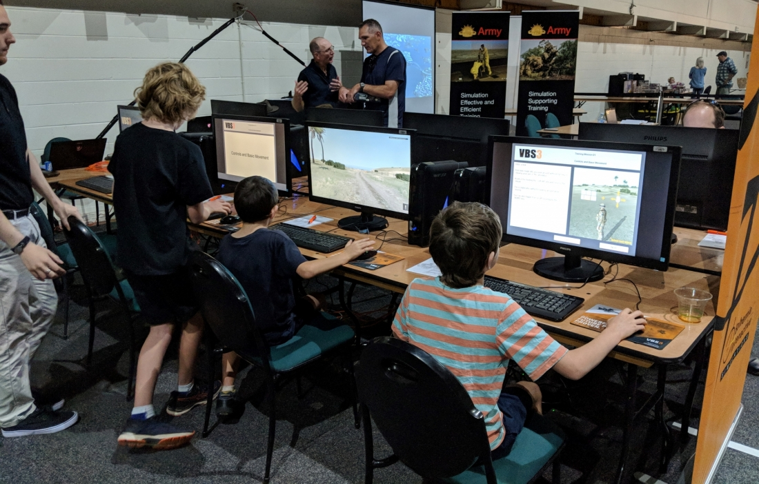 BISim VBS3 Australia military simulation virtual training