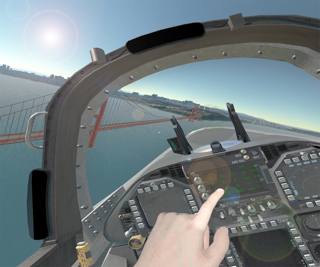 BISim to Demonstrate VR Flight Simulator at ITEC 2016 and Sea Air