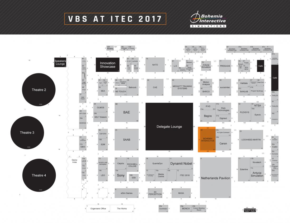 ITEC map