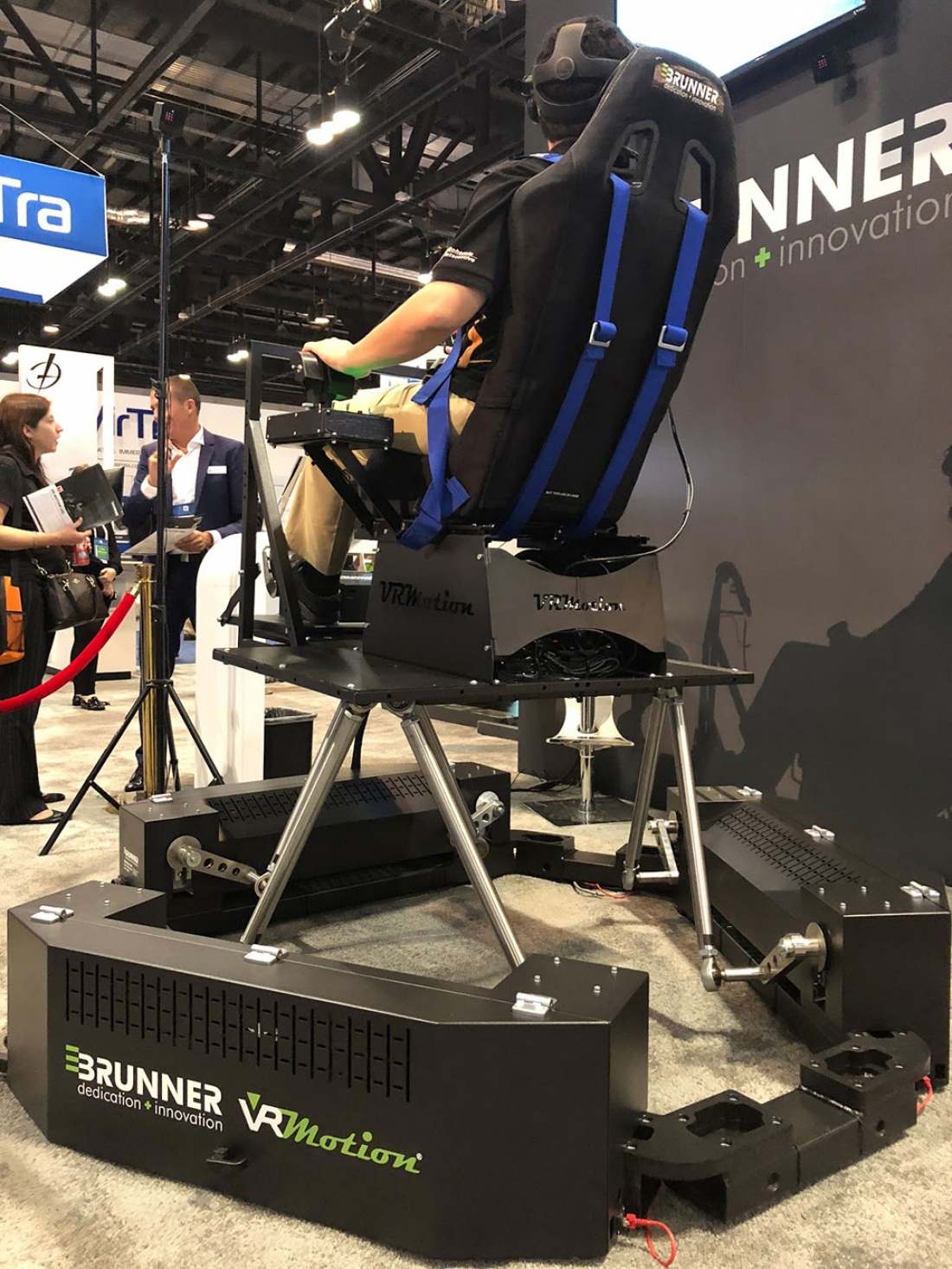 Brunner motion platform 3D flight simulator