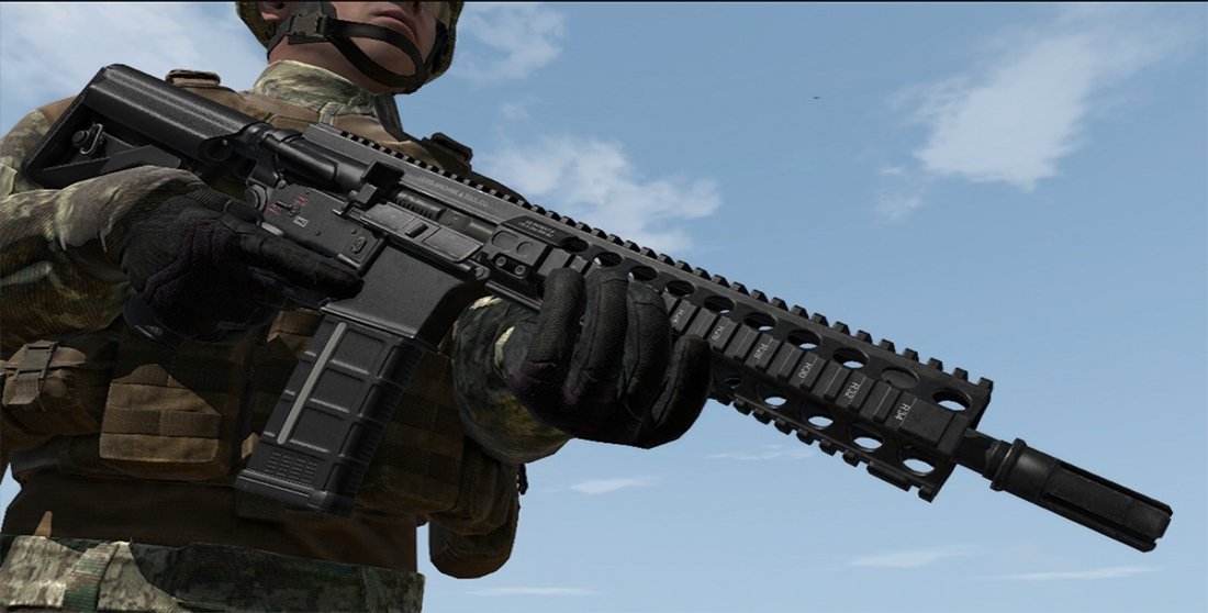 VR military games MARSL rifle