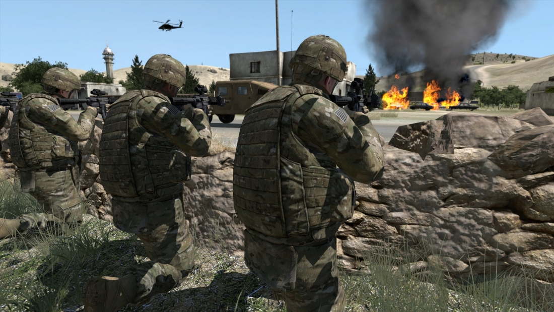 first-person shooter US Army game