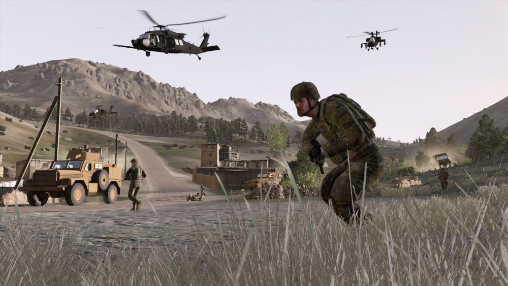 Saab VBS3 virtual military training