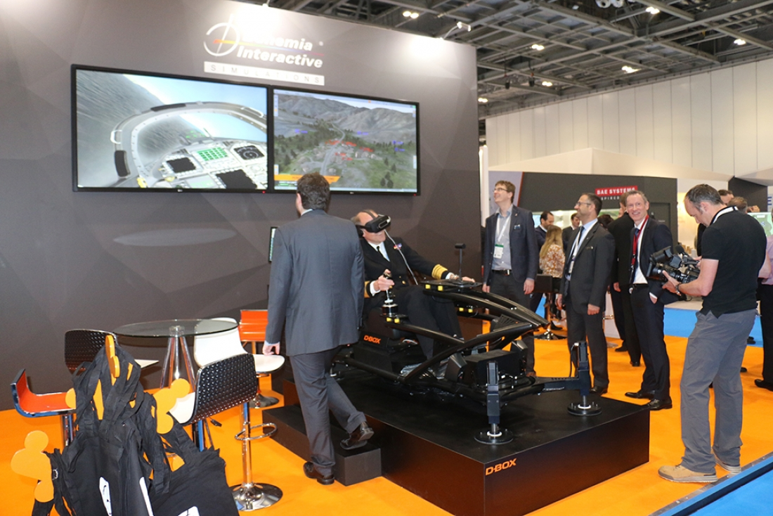 BISim Showcases VR-Based and Image Generation Technologies at