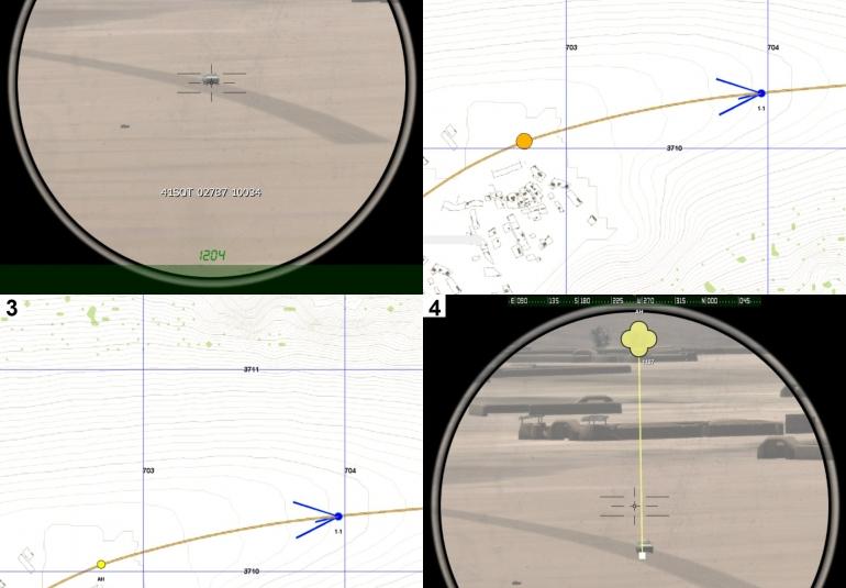 VBS virtual experimentation Laser Range Finder