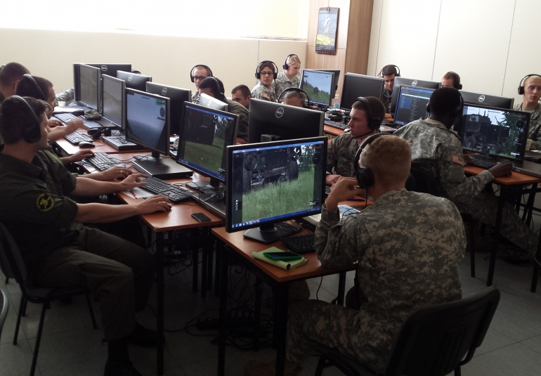 VBS virtual gaming training army simulation games