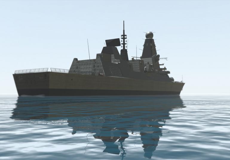 Full Ship Walkthrough | BISim