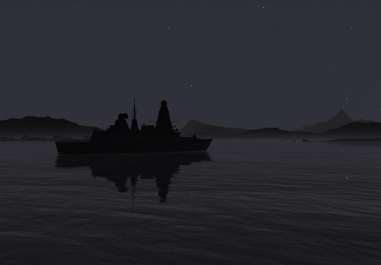 3D models military simulation training virtual environment ocean simulation