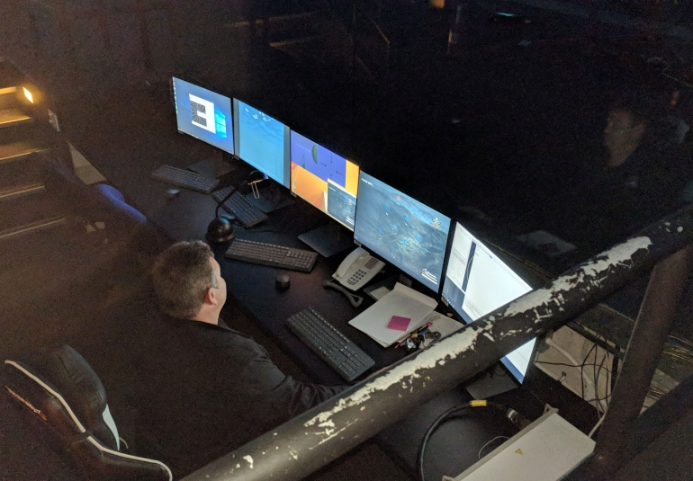 simulated missile defense admin station military training ADF ground to air defense