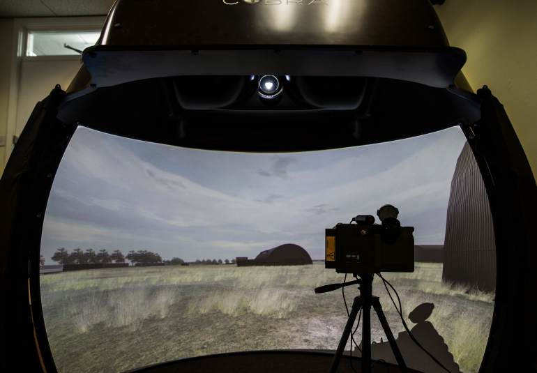 JTAC Joint Terminal Attack Controller Training Simulation 3D Virtual Military