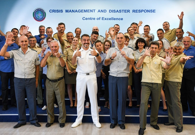 Staff of CMDR COE
