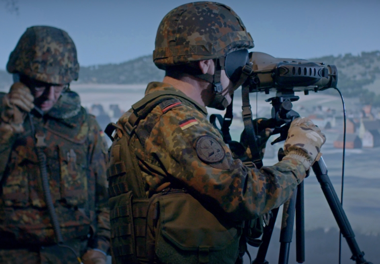 joint fires support team trainer german army vbs3 vbs ig simulated military equipment image generation