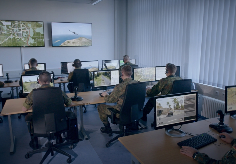 joint fires support team trainer german army vbs3 vbs ig simulated military equipment