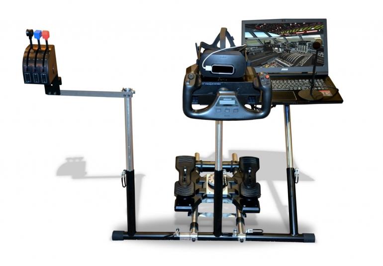 AC-130 virtual military training high-fidelity 3D cockpit portable kit