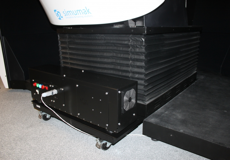 3D Military Vehicles Simulator motion platform VBS3 driver training driving simulation