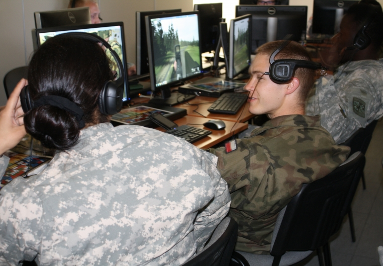 VBS virtual gaming training army simulation games