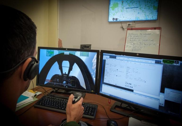 FAC military simulation virtual training
