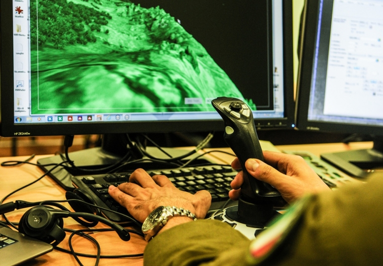 FAC military simulation virtual training