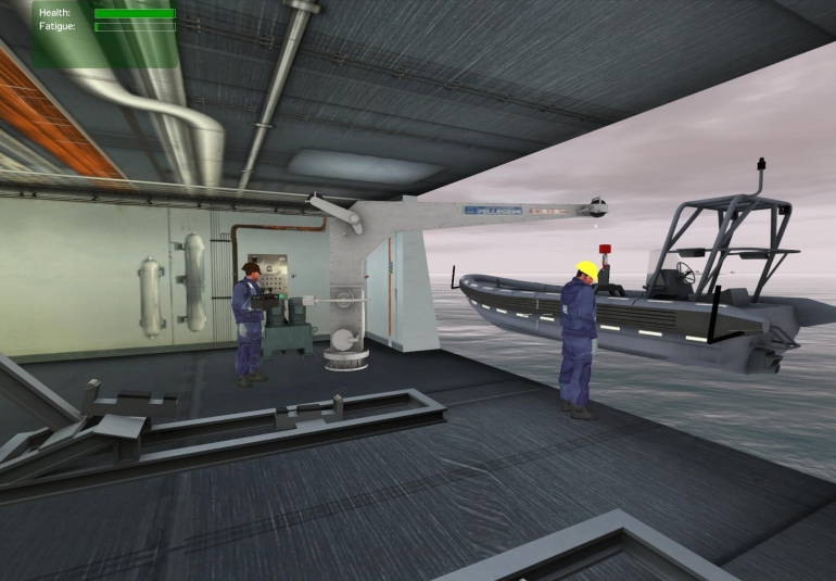 Practice RHIB deployment in safe, virtual environment