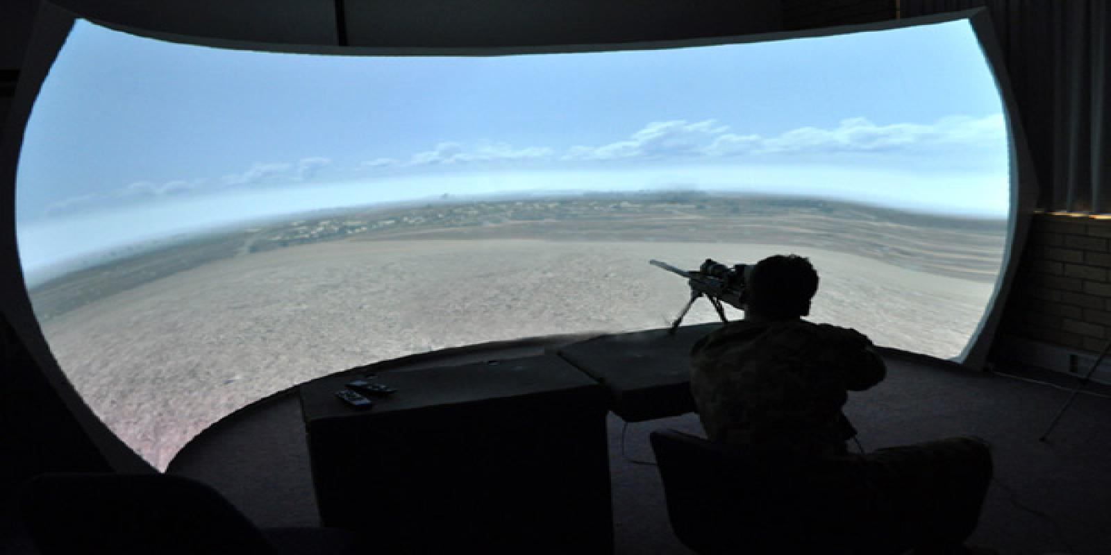 laser shot, long range shooting simulator, laser shooting simulator