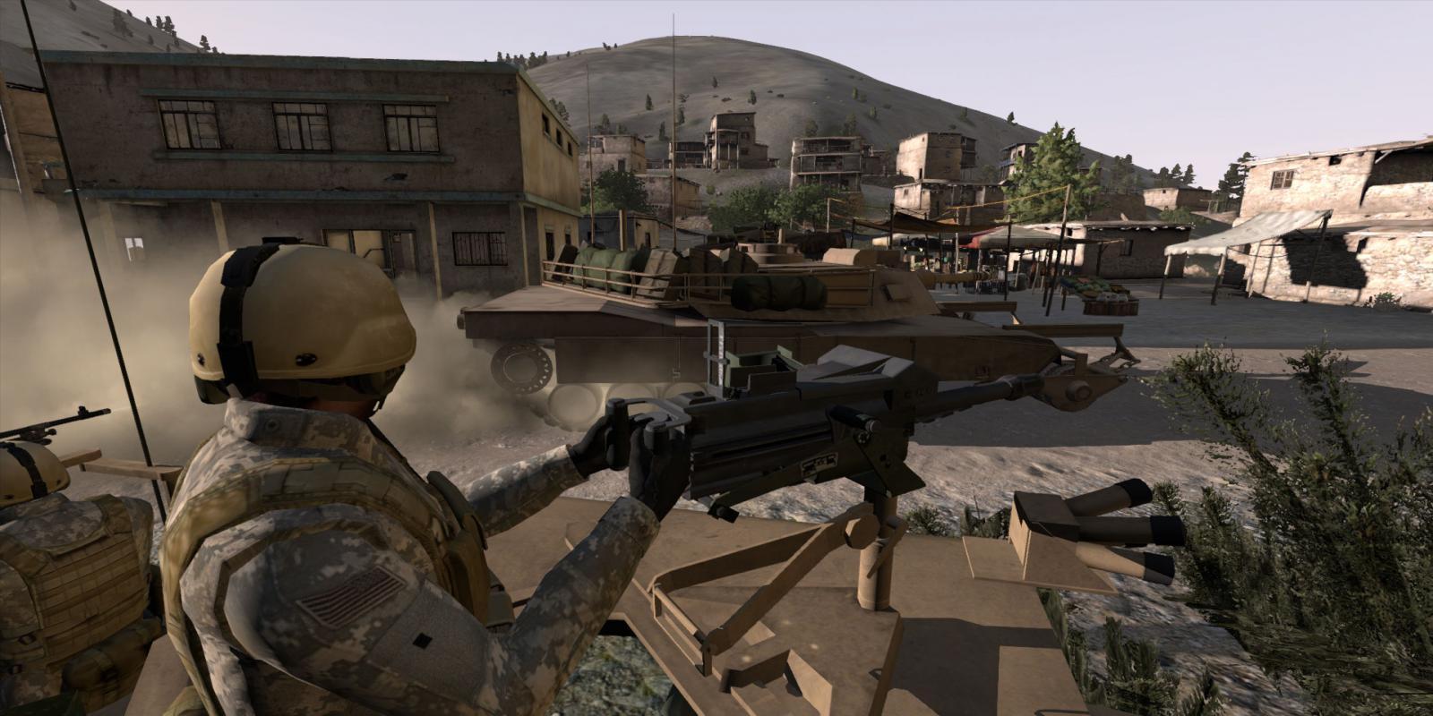 virtual mounted soldier training